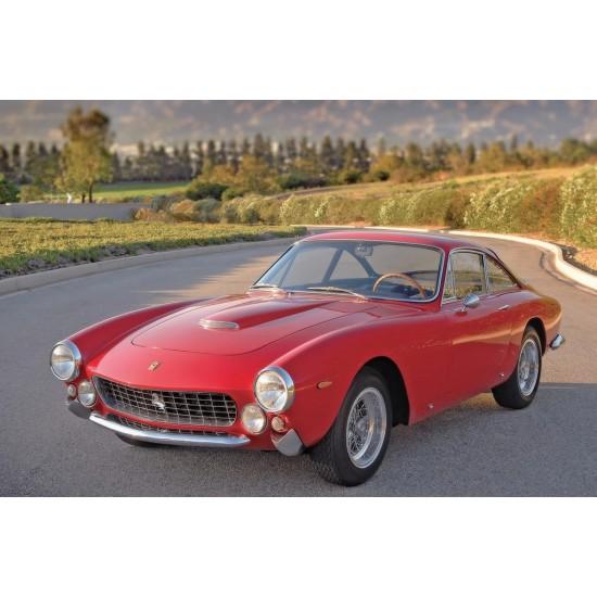 Ferrari 250 Gt Lusso 1962 Old Retro Car Poster Sole Poster